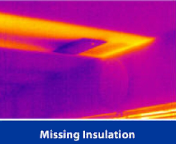 Finding missing insulation